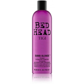Tigi Bed Head Dumb Blonde šampūnas šviesiems plaukams