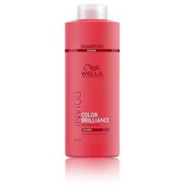 Wella Professional Invigo Brilliance šampūnas dažytiems šiurkštiems plaukams