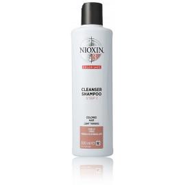 Nioxin System 3 Cleanser šampūnas 300 ml.