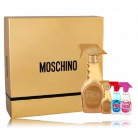 Moschino Gold Fresh Couture rinkinys moterims (50 ml. EDP + 3 x 5 ml.)