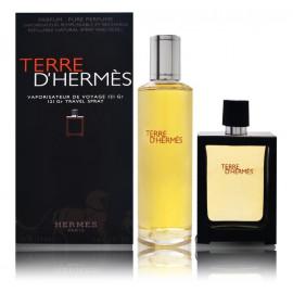 Hermes Terre D'Hermes Pure Parfum rinkinys vyrams (125 ml. + 30 ml.)
