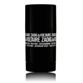 Zadig & Voltaire This Is Him! pieštukinis dezodorantas vyrams 75 ml.