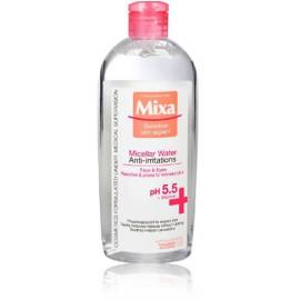 Mixa Cleansing Micellar Water Anti-irritations micelinis vanduo jautriai raustančiai odai 400 ml.