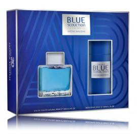 Antonio Banderas Blue Seduction for Man rinkinys vyrams (100 ml. EDT + dezodorantas)