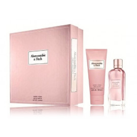 Abercrombie & Fitch First Instinct for Her rinkinys moterims (100 ml. EDP + losjonas)