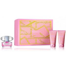 Versace Bright Crystal rinkinys moterims (50 ml. EDT + 50 ml. kūno losjonas + 50 ml. dušo gelis)