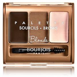 Bourjois Brow Palette paletė antakių formavimui 4,5 g. 001 Blonde