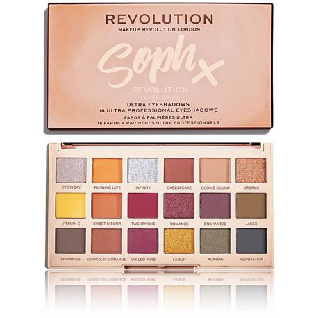 Makeup Revolution Soph X Extra Spice akių šešėlių paletė 14 g.