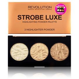 Makeup Revolution Strobe Luxe švytėjimo suteikianti paletė 11,5 g.