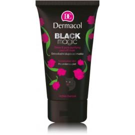 Dermacol Black detox Peeling Mask Black Magic nuplėšiama kaukė probleminei odai 150 ml.