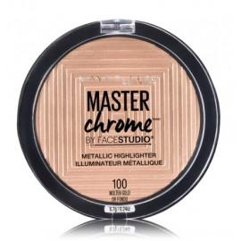 Maybelline Master Chrome švytėjimo suteikianti priemonė 100 Molten Gold