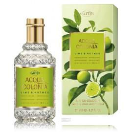 4711 Acqua Colonia Lime & Nutmeg 50 ml. EDC kvepalai vyrams ir moterims