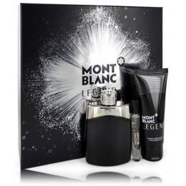 Mont Blanc Legend rinkinys vyrams (100 ml. EDT + 7,5 ml. EDT + balzamas)