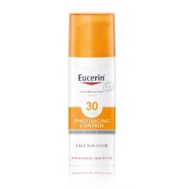 Eucerin Anti-wrinkle Emulsion Photoaging Control veido fluidas nuo saulės su SPF 30 50 ml.