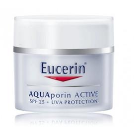 Eucerin Aquaporin Active drėkinamasis kremas sausai odai su SPF 25 50 ml.