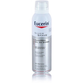 Eucerin Men Silver Shaving Gel skutimosi gelis 150 ml.