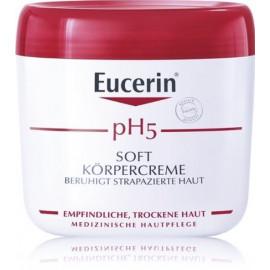Eucerin Soft Body Cream pH5 drėkinantis kūno kremas 450 ml.