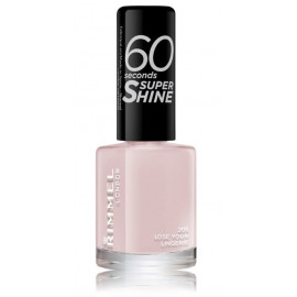 Rimmel 60 Seconds Super Shine Nail Polish greitai džiūstantis nagų lakas 203 Love Your Lingerie 8 ml.