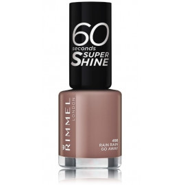 Rimmel 60 Seconds Nail Polish By Rita Ora greitai džiūstantis nagų lakas 498 Rain Rain Go Away 8 ml.