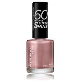 Rimmel 60 Seconds Super Shine Nail Polish greitai džiūstantis nagų lakas 210 Ethereal 8 ml.