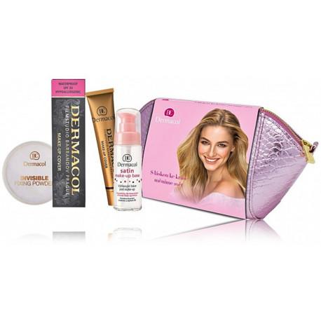 Dermacol kosmetikos rinkinys  (bazė+makiažo pagrindas+biri pudra)