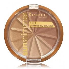 Rimmel SunShimmer 3in1 švytėjimo suteikiantis bronzantas 9,9 g. 001 Gold Princess