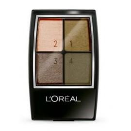 Loreal Quads akių šešėliai 306 Forest Light