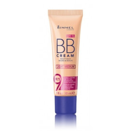 Rimmel BB Cream 9in1 drėkinantis BB kremas su SPF15 30 ml. Light Medium