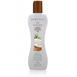 Biosilk Silk Therapy with Coconut Oil Leave-In Treatment  serumas plaukams ir kūnui