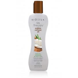 Biosilk Silk Therapy with Coconut Oil Leave-In Treatment  serumas plaukams ir kūnui 167 ml.