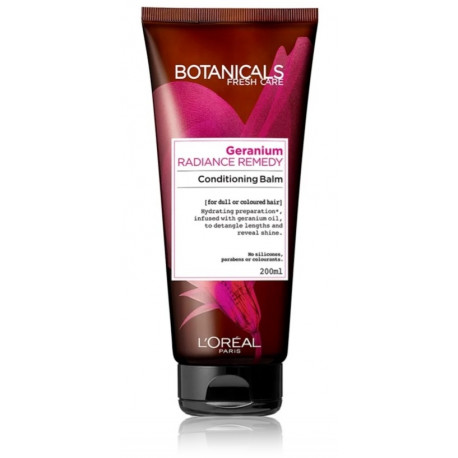 Loreal Professionnel Botanical Radiance Remedy Conditioning Balm kondicionierius dažytiems plaukams 200 ml.