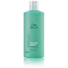 Wella Professional Invigo Volume Boost apimties suteikiantis šampūnas 500 ml.