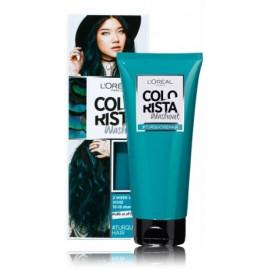Loreal Colorista Wash Out nuplaunami plaukų dažai tamsiaplaukėms 10 Turquoise