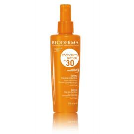 BIODERMA Photoderm Bronz Spray SPF30 purškiklis apsaugantis nuo saulės 200 ml.