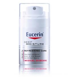 Eucerin Silver Deep Moisture giliai drėkinantis veido kremas vyrams 50 ml.