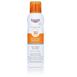 Eucerin Dry Touch Transparent Sun Oil neapsunkinantis purškiklis apsaugantis nuo saulės su SPF 30 200 ml.