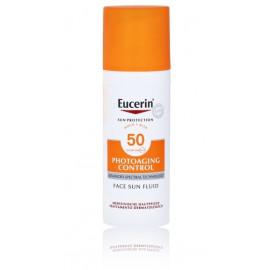 Eucerin Photoaging Control Face Sun Fluid SPF 50 veido fluidas nuo saulės su SPF 50 50 ml.