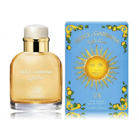 Dolce & Gabbana Light Blue Sun 75 ml. EDT kvepalai vyrams