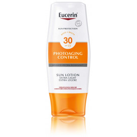 Eucerin Photoaging Control Sun Lotion Extra-Light SPF 30 losjonas nuo saulės 150 ml.
