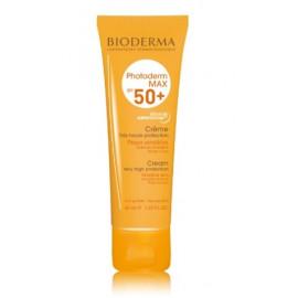 BIODERMA MAX SPF 50+ Cream kremas nuo saulės 40 ml.
