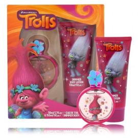Trolls rinkinys mergaitėms (50 ml. EDT + žvilgantis kūno losjonas)