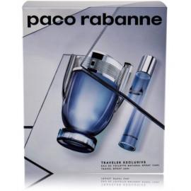 Paco Rabanne Invictus rinkinys vyrams (100 ml. EDT + 20 ml. EDT)