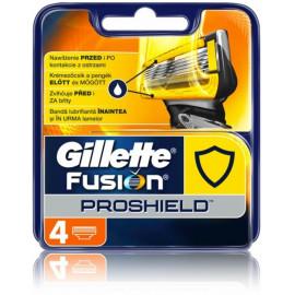 Gillette Fusion ProShield skustuvo galvutės 4 vnt.