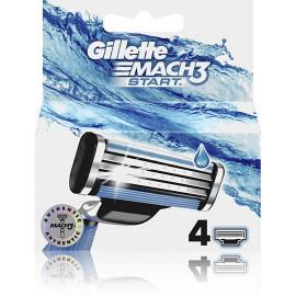 Gillette Mach3 Start skustuvo galvutės 4 vnt.