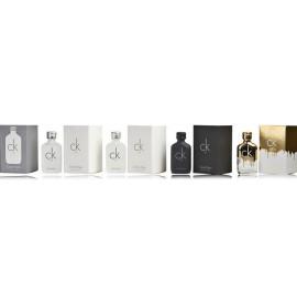 Calvin Klein CK  miniatiūrų rinkinys moterims (5 x 10 ml. EDT)
