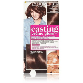 Loreal Professionnel Hair color Casting Creme Gloss plaukų dažai 518 Mochaccino