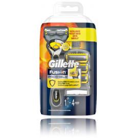 Gillette Fusion5 ProShield skustuvas ir keičiamosios galvutės vyrams