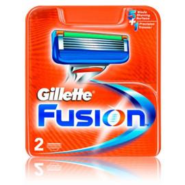 Gillette Fusion skustuvo galvutės 2 vnt.