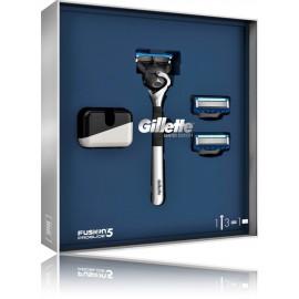 Gillette Fusion Proglide Chrome Edition rinkinys vyrams