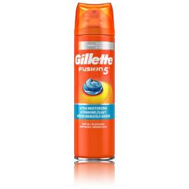 Gillette Fusion ProGlide Hydrating Gel skutimosi želė vyrams 200 ml.